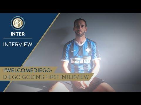 DIEGO GODIN | First Inter TV Interview | #WelcomeDiego! 🎙️⚫️🔵 [SUB ENG + ITA]