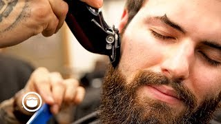 How to Add Structure to Your Beard with a Trim | South Austin Barber Shop