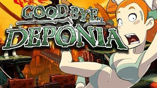 Goodbye Deponia – Game Movie (All Cutscenes / Story Walkthrough) 1080p HD