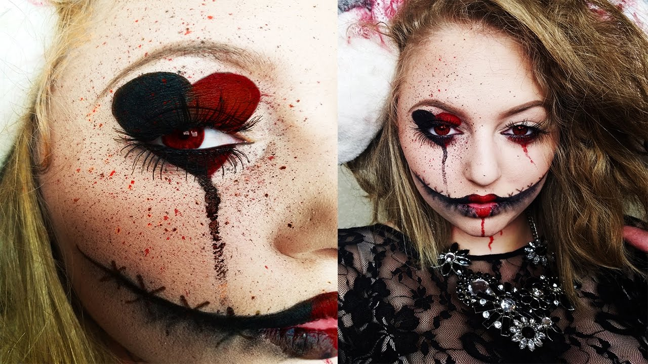 queen of hearts affordable halloween makeup tutorial youtube