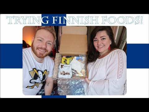 Something New! Trying Finnish Foods!   2018