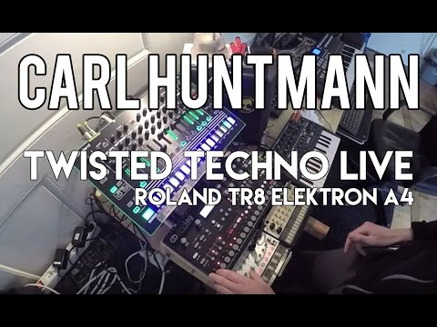 """Twisted"" Analog TECHNO Live on Roland TR8, Elektron A4"
