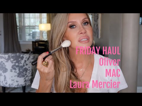 Friday Haul~ Oliver MAC Laura Mercier