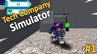 TECH COMPANY SIMULATOR #1 - Roblox
