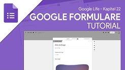 Umfragen & Quizze einfach erstellen | Google Formulare (Tutorial) Google Life #22