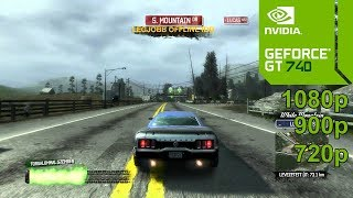 Burnout Paradise The Ultimate Box Gameplay in Geforce GT 740 / GT 740m - No Commentary Part 1
