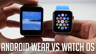 Android Wear VS Watch OS (Apple Watch)