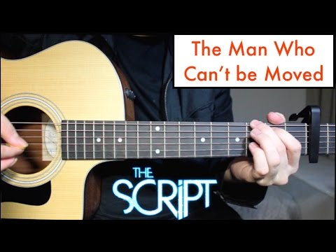 The Script - The Man Who Can't be Moved | Guitar Lesson Tutorial & Chords