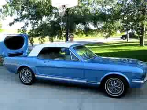 1966 Mustang Gt Retractable Roof Operation From Kc Classic