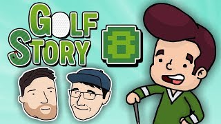 Let's Play Golf Story - PART 8: Sexy French-Jamaican Cavemen | 2 Left Thumbs