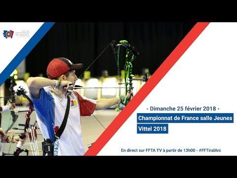 Finales Championnat de France salle Jeunes Vittel 2018