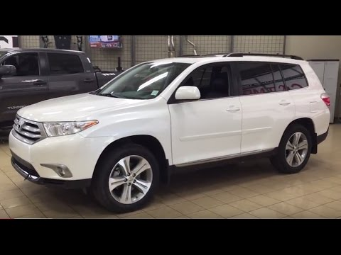 Amazing 2013 Toyota Highlander Sport Review