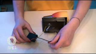 Как подключить сенсорный блок к светильнику
