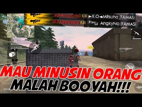KALAU UDAH PADA SERIUS GINI SUSAH BUAT DIMINUSIN !!! - FREE FIRE INDONESIA