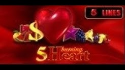 5 Burning Heart - Slot Machine - 5 Lines