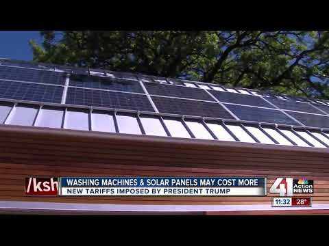 Trump solar panel tariff to impact local vendors