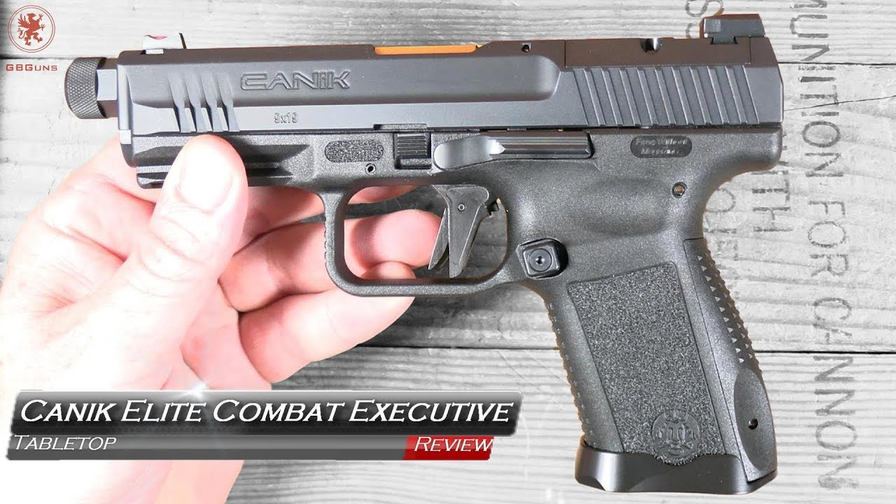 Canik TP9 Elite Combat Executive - Video Review