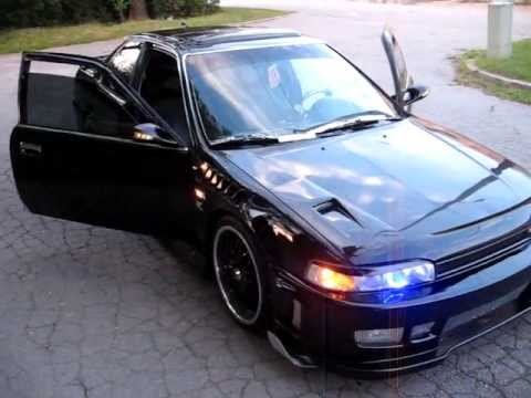 Custom 90 Honda Accord Coupe Youtube