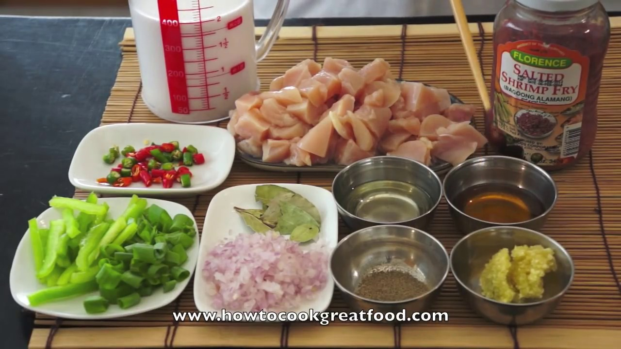 Chicken bicol express recipe how to cook great filipino pinoy food chicken bicol express recipe how to cook great filipino pinoy food not pork asian youtube forumfinder Image collections