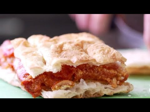 How to Make an Eggplant Sandwich - Melissa Clark | The New York Times