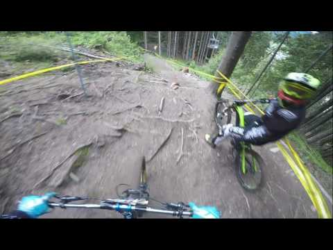 Downhill Schladming 2016 iXS Cup Training Raw