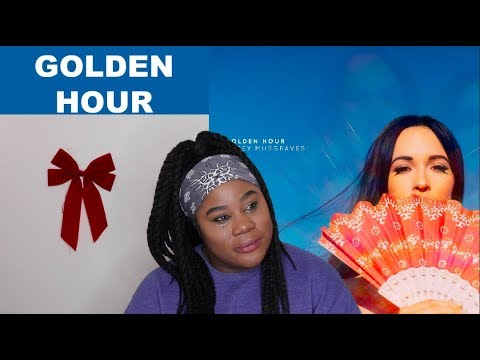 Kacey Musgraves - Golden Hour Album |REACTION|