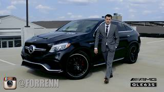 Mercedes Benz GLE63S Coupe FORRENN Test Drive (Субтитры на Русском)