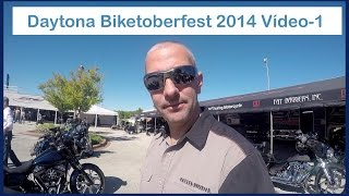 Biketoberfest in Daytona Beach, Florida EUA - 1/4