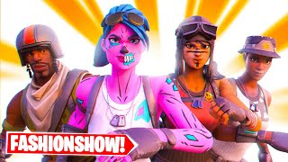 THE BEST FORTNITE FASHION SHOW SQUAD.. (SO FUNNY)