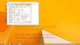 WLAN aktivieren in Windows 8