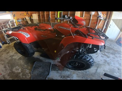 I bought a Kingquad ATV from Copart that was completely UNDERWATER!!