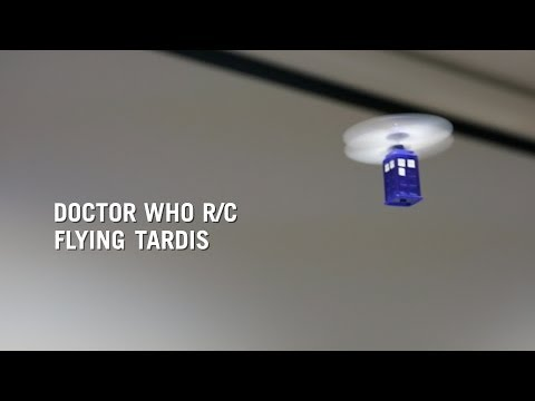 Doctor Who R/C Flying TARDIS from ThinkGeek