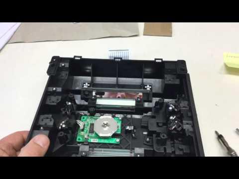 Lexmark C540 Laser Scanner Unit Teardown