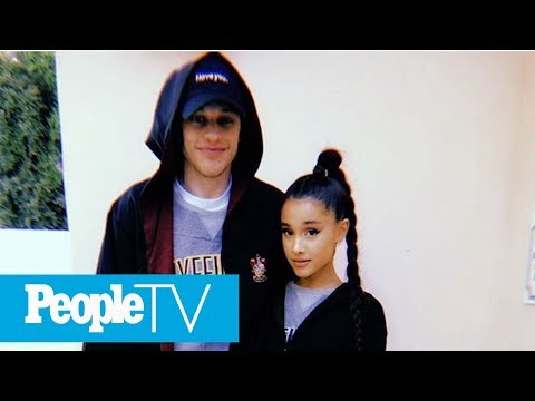 Ariana Grande And Pete Davidson Hit Disneyland After Whirlwind Engagement News | PeopleTV