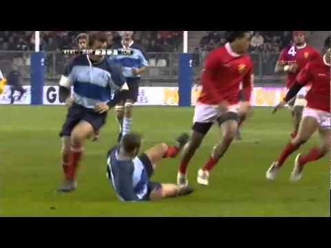 Tonga beats French Barbarians 2010