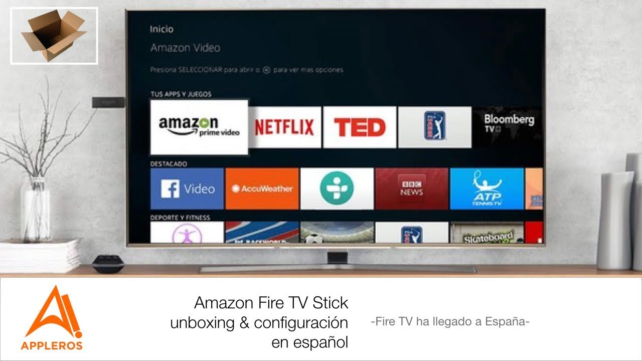 amazon fire tv español