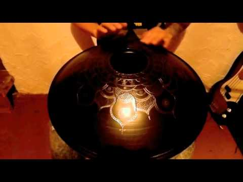 Zen Percussion Drum, RagaDesh scale