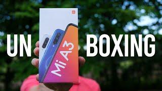 Xiaomi Mi A3 Unboxing ( în română )