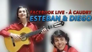 [ESTEBAN & DIEGO] FACEBOOK LIVE N°1