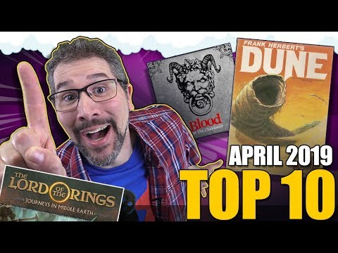 Top 10 Hottest Board Games April 2019 Youtube