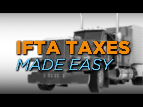 Trip Sheets & IFTA Taxes Made Easy For Truck Drivers!
