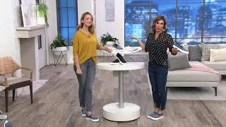 Shoes- Poppy Studded Affair on QVC