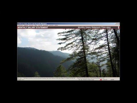 Billing Accounting Software Menu Screens Video