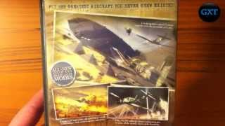 Blazing Angels 2:Secret Missions of WWII  2007 Video Game Unboxing-Overview HD 720P