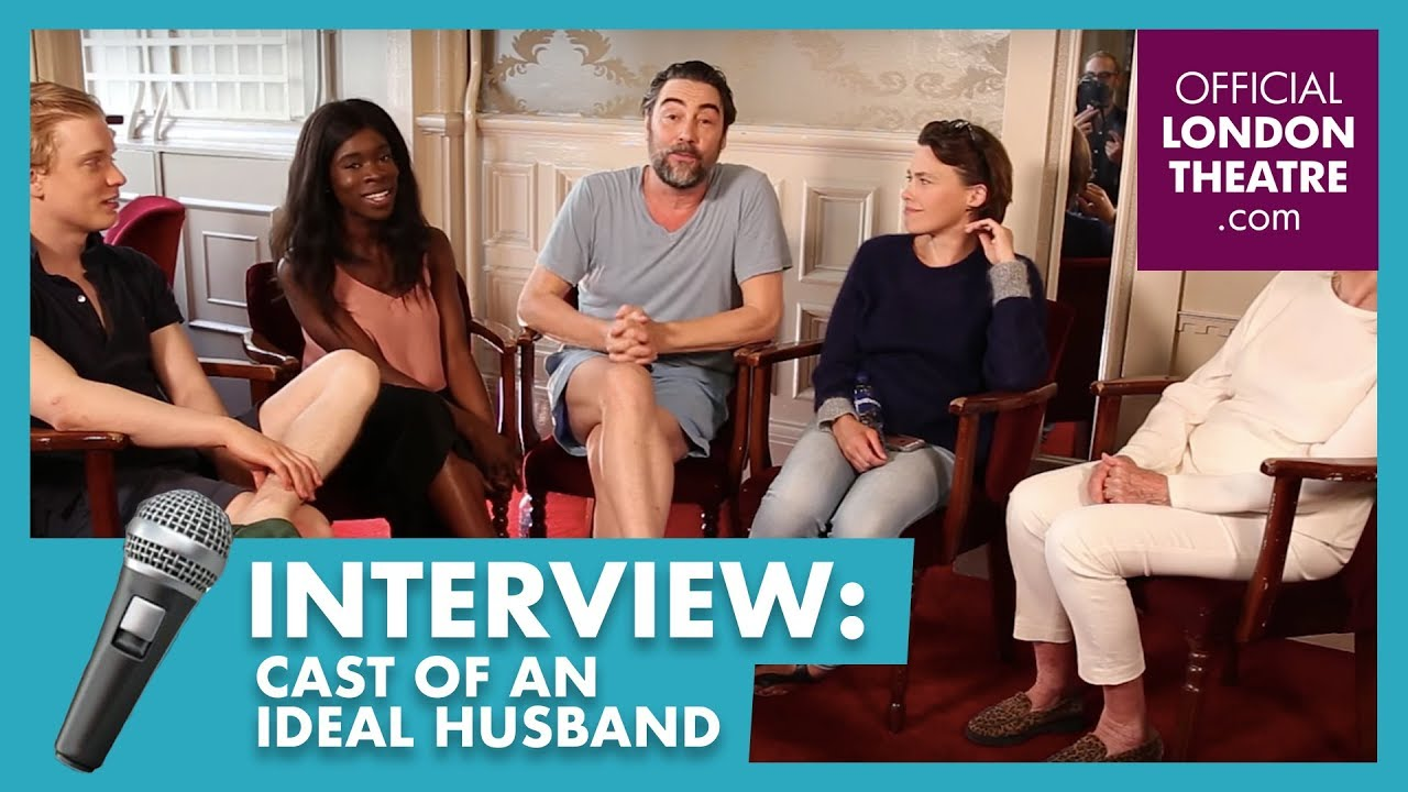 Two Truths and a Lie with the cast of An Ideal Husband