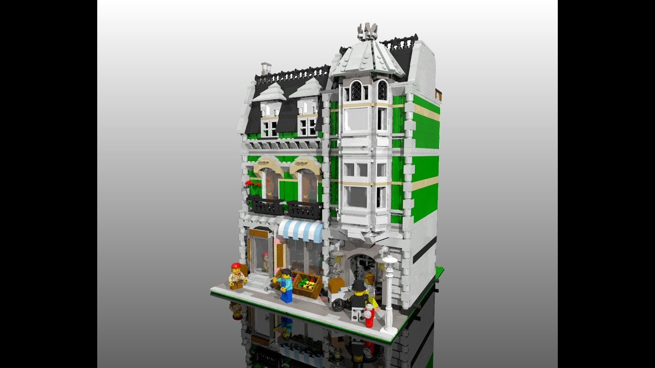 Lego 174 Set 10185 Green Grocer Youtube