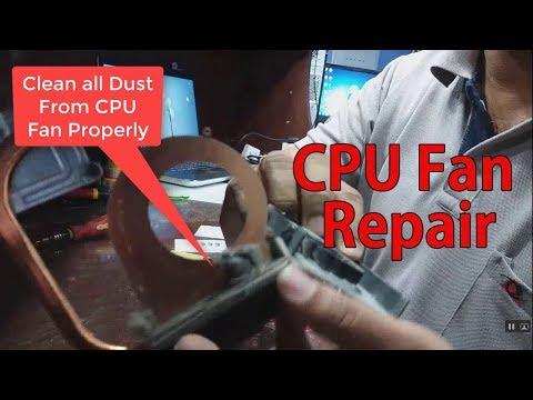 CPU Fan Over Heat Problem. hp 2000 Laptop CPU Fan Repair