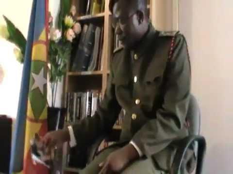CABINDA: O Ministro da Defesa, Segurança e SIRKA [Sr Gabriel B Homem]