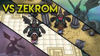 Evolution of Zekrom Battles (2011 - 2017)