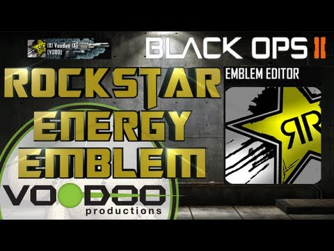 Rockstar Energy , Black Ops 2 Emblem Tutorial, Episode 10